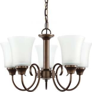 Darby Home Co Buren 5-Light Shaded Chandelier