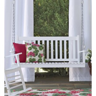 Slatted Eucalyptus Porch Swing