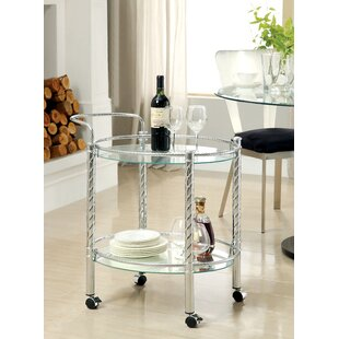 Aosta Bar Cart by Hokku Designs