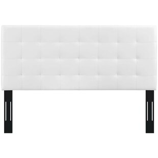 Veda King Upholstered Panel Headboard by Wrought Studio