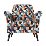 Ginn 32'' W Polyester Armchair by George Oliver