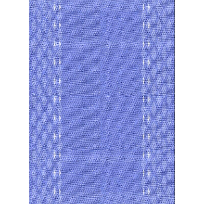 East Urban Home Efird Geometric Wool Blue Area Rug Wayfair