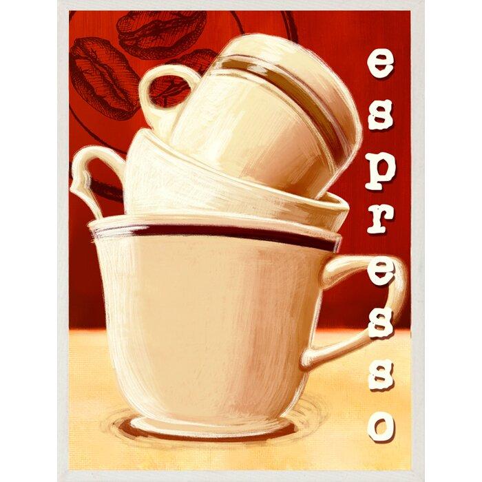 Ptm Cappuccino And Espresso Giclee 2 Piece Vintage Advertisement Set Wayfair