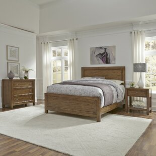 Milford Panel 3 Piece Bedroom Set by Canora Grey