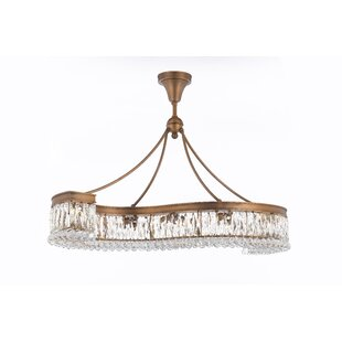 Freddie 14-Light Crystal Chandelier by Rosdorf Park