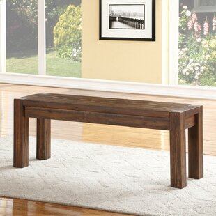 Loon Peak Gibson Wood Bench