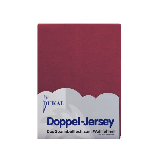 Spannbettlaken ClearAmbient Farbe: Burgund| Größe: 90-100 x 200 cm | Heimtextilien > Bettwäsche und Laken > Bettlaken | ClearAmbient