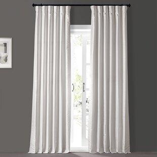 Freemansburg Solid Room Darkening Thermal Rod Pocket Single Curtain Panel Joss Main