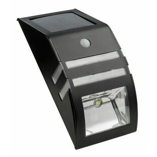 Living Accents Security Solar Powered 1 Light LED Rail Light