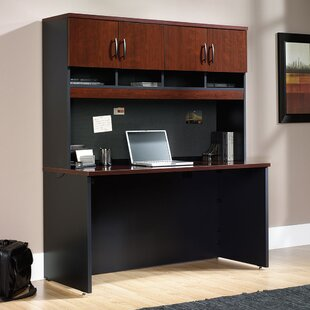 Castalia Desk with Hutch