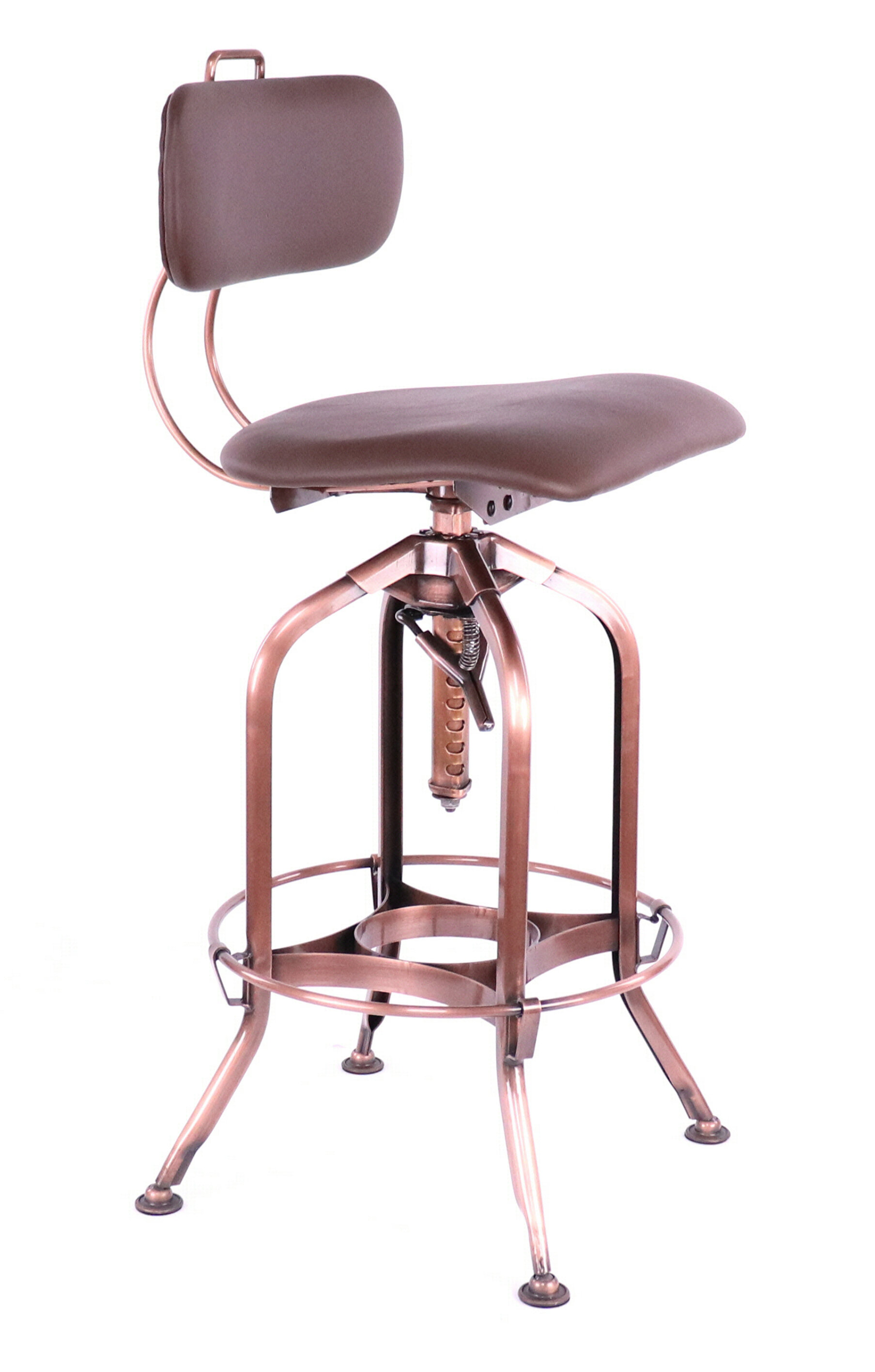 Copper Saddle Seat Bar Stools Counter Stools You Ll Love In 2021 Wayfair