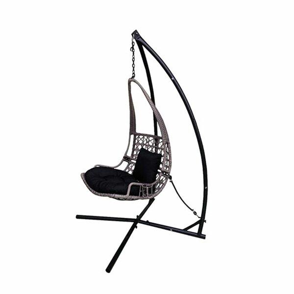Outstanding Rattan Wicker Pod Swing Chair Wayfair Machost Co Dining Chair Design Ideas Machostcouk