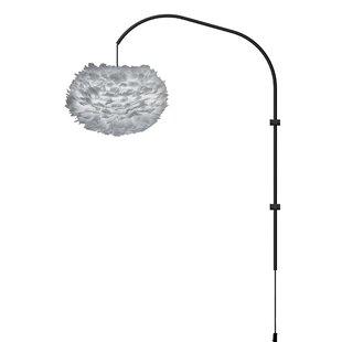 Umage Eos 1-Light Modern Feather Globe Swing Arm