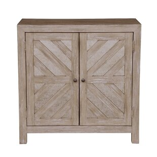 Vivienne Antique Mirror 2 Door Accent Cabinet by Gracie Oaks