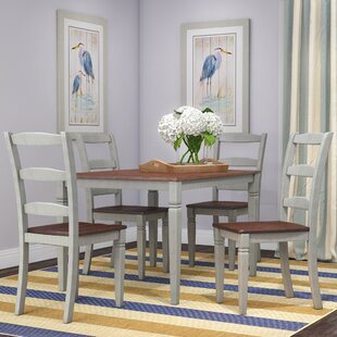 Cambridgeport 5 Piece Dining Set Beachcrest Home