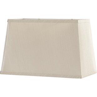 Perfect 16u201d Fabric Rectangular Lamp Shade