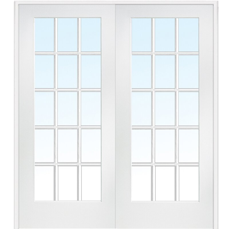 Verona Home Design Glass French Doors Reviews Wayfair