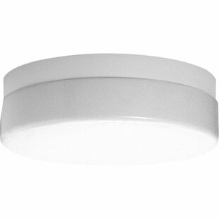 Hollen 1-Light Flush Mount by Latitude Run