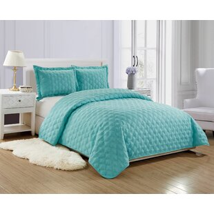 Turquoise bedroom furniture Seaside Bedroom Quickview Wayfair Set Teal Quilts Coverlets Sets Youll Love Wayfair