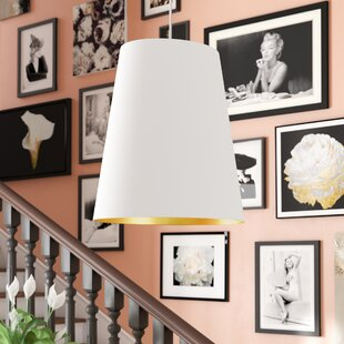 Online Reviews Jenkins 1-Light Cone Pendant By Willa Arlo Interiors
