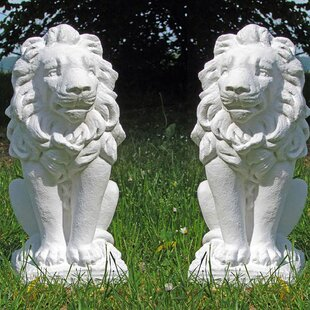 2 Piece Oakmead Statue Set (Set Of 2) By Sol 72 Outdoor