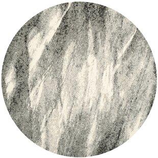 Vulpecula Gray/Ivory Area Rug by Mercury Row