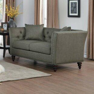 Purchase Hersche Loveseat by Charlton Home Reviews (2019) & Buyer's Guide