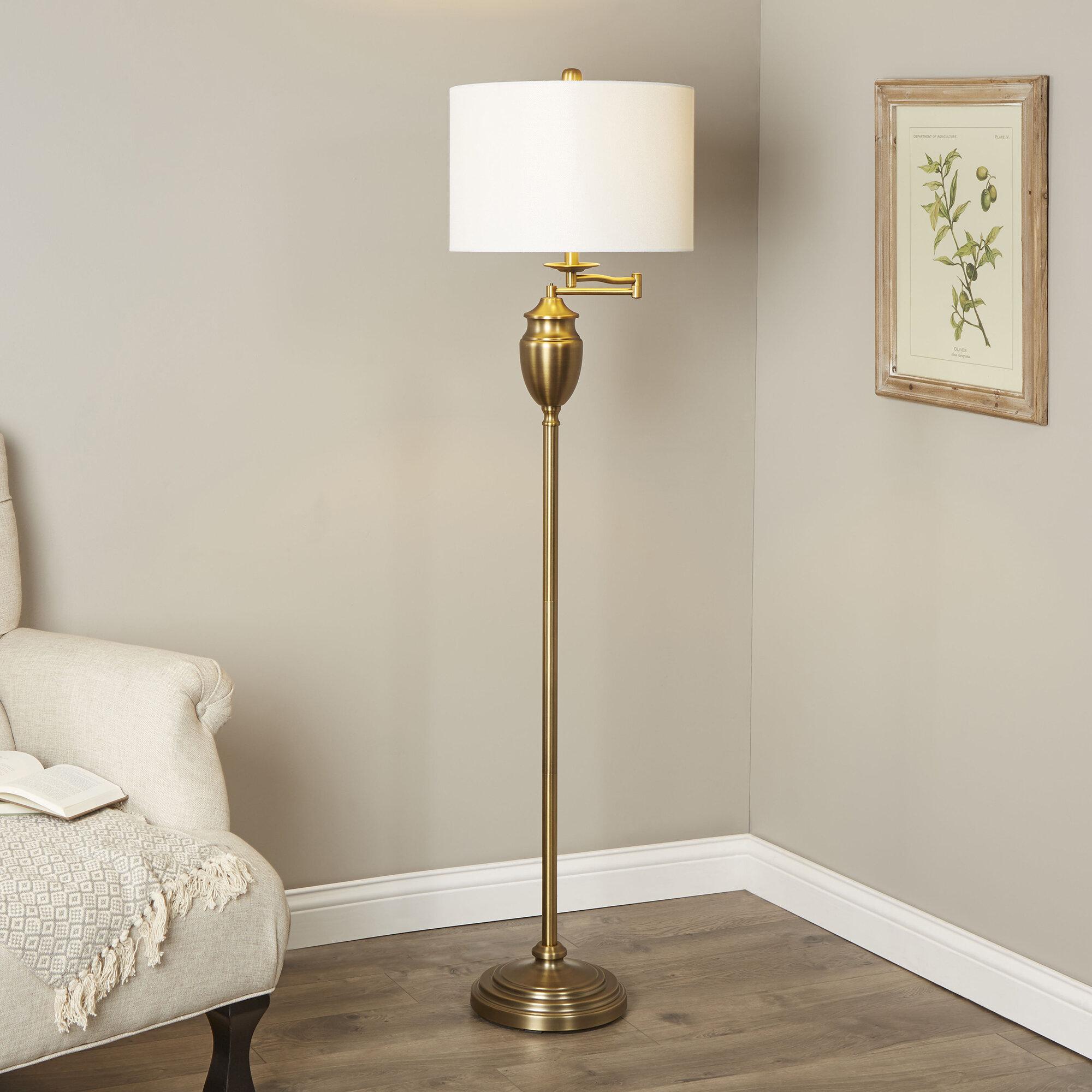 Galindo 60 Swing Arm Floor Lamp