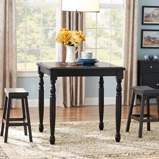 Courtdale 3 Piece Pub Table Set by Three Posts