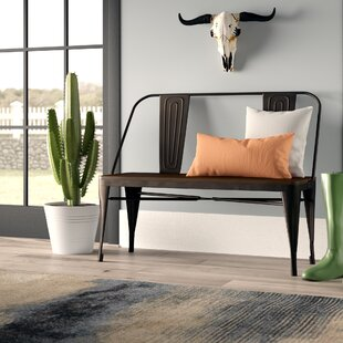 Claremont Wood Bench by Union Rustic