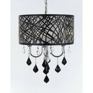 House of Hampton Chisley Crystal 4-Light ..