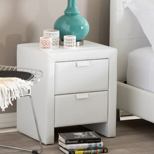 Utley 2 Drawer Nightstand
