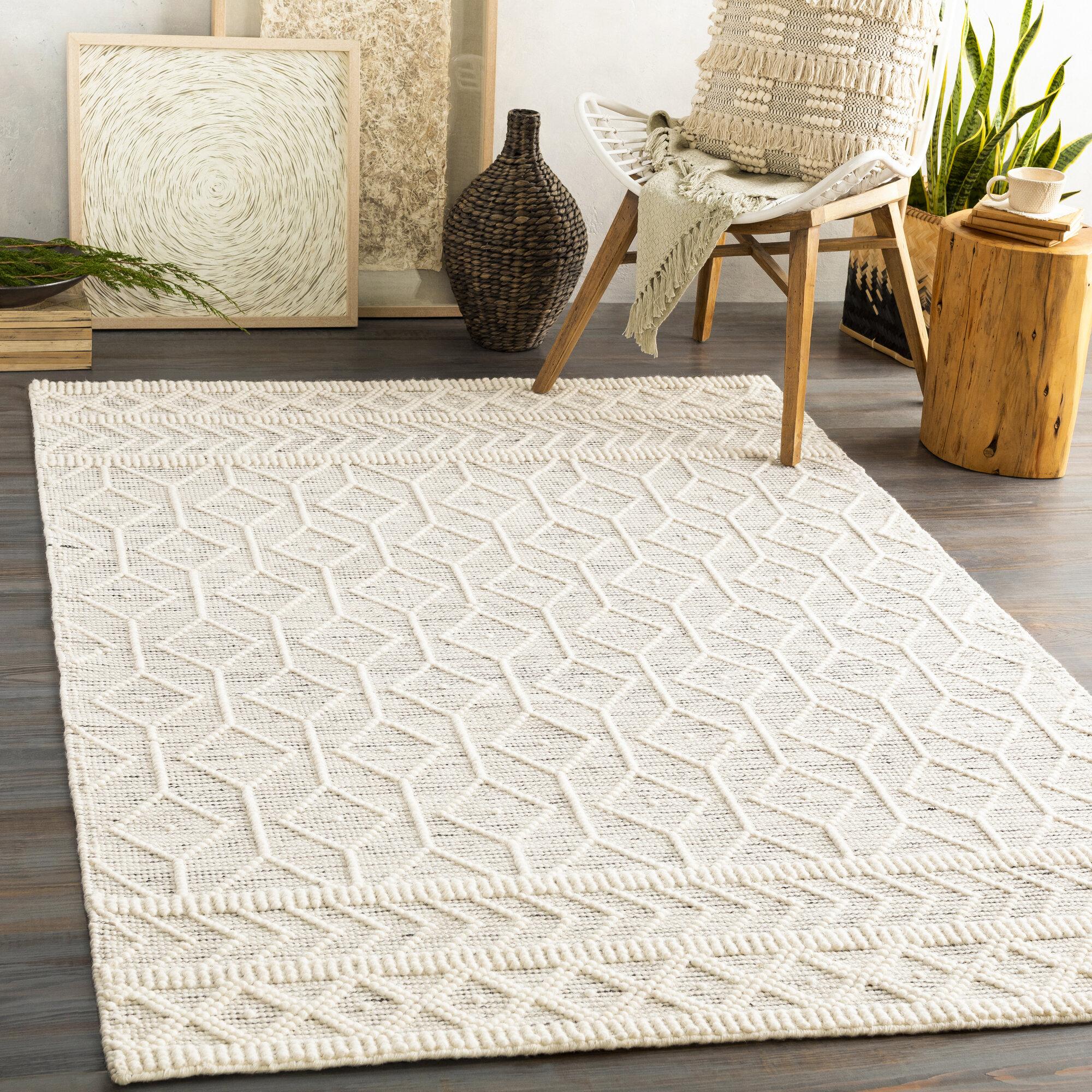 Handmade Flatweave Wool Area Rug