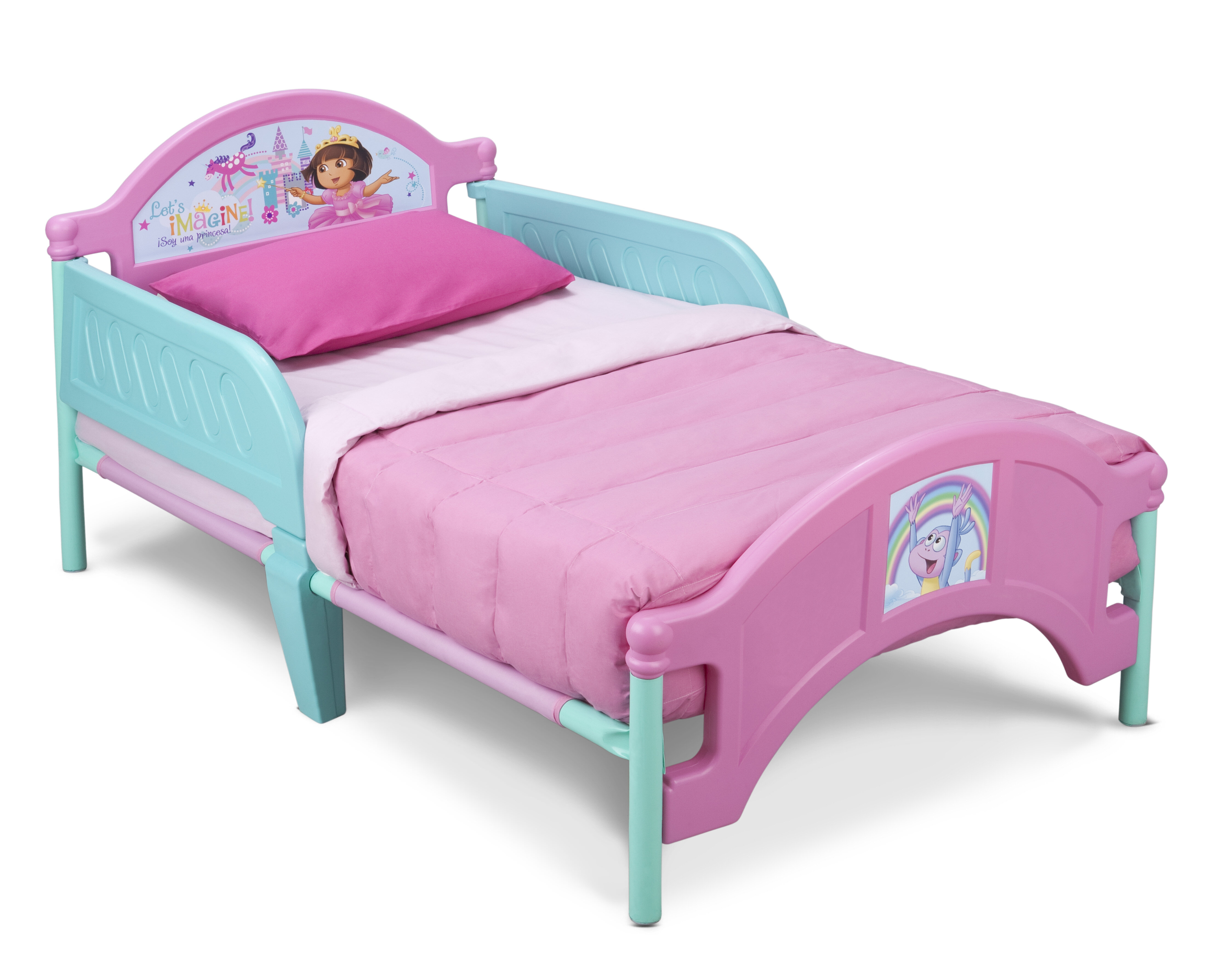 products mouse toddler footboard beds res side delta mickey plastic children right bed view hi