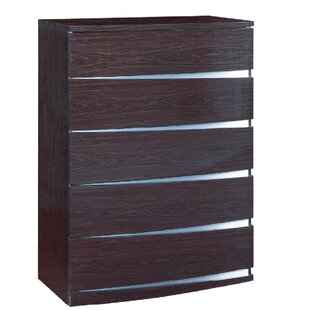 Orren Ellis Emely 5 Drawer Standard Chest