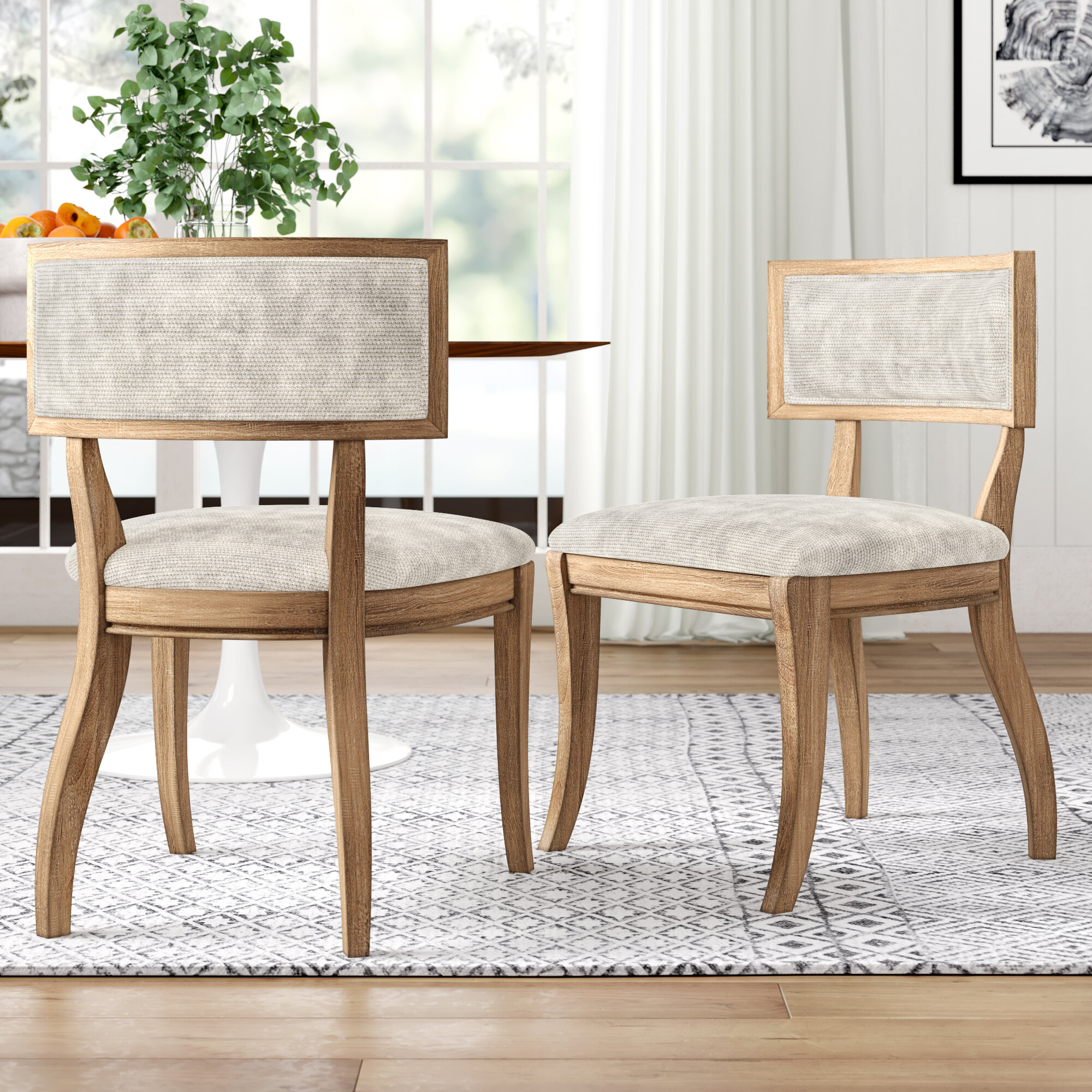 Marie Upholstered Dining Chair Reviews Joss Main