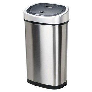 Stainless Steel 13.2 Gallon Motion Sensor Trash Can
