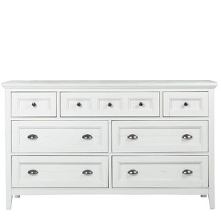 Rosecliff Heights Cremeans 7 Drawer Dresser