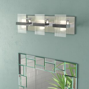Wade Logan Jamesburg 3-Light LED Bath Bar