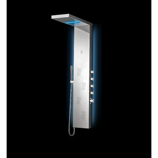 Nezza Wave LED Dual Shower..