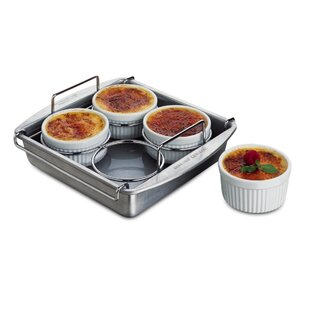 Square Non-Stick Crème Brulee (Set of 6)