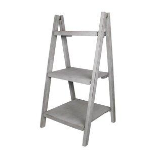 Cheungs Shabby Elegance Ladder Bookcase
