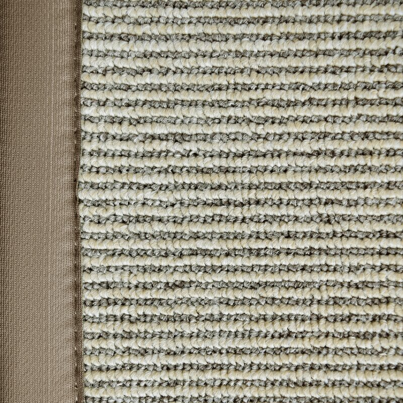 Marica Synthetic Sisal Beige Area Rug