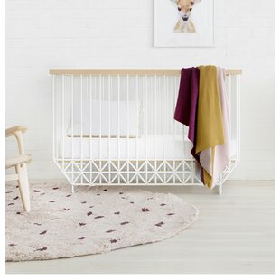 Incroyable Mod 2 In 1 Convertible Crib With Mattress
