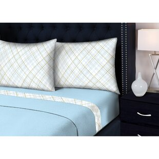 Ruiz 3 Piece Plaid Sheet Set