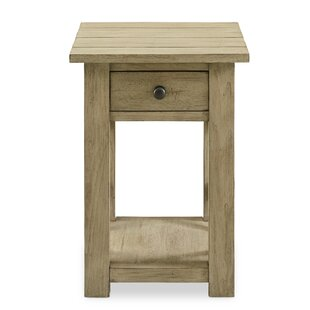 Arria End Table by Gracie Oaks No Copoun