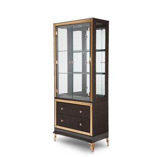 Michael Amini Hollywood Loft Lighted China Cabinet