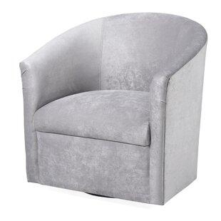 Willa Arlo Interiors Raphael Swivel Barrel Chair