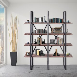 Alisa Library Bookcase by 17 Stories SKU:CC308374 Check Price
