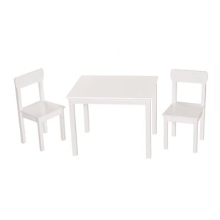 Little Stars Children's 3 Piece Table and Chair Set by Roba
